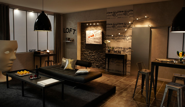 Salon Sejour Contemporary Living Room Lille By Leroy