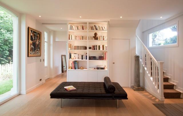 salons by feld architecture classique chic salon paris par feld architecture. Black Bedroom Furniture Sets. Home Design Ideas