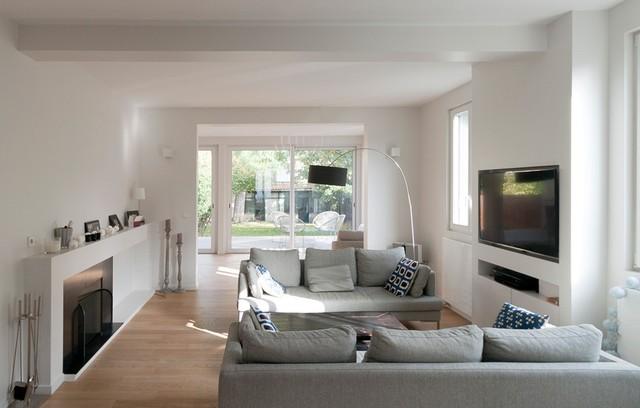 salons by feld architecture contemporain salon paris par feld architecture. Black Bedroom Furniture Sets. Home Design Ideas