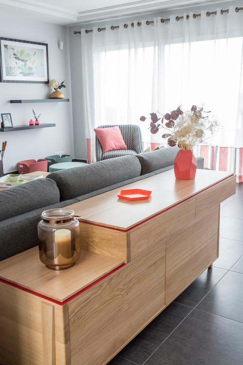 Bonjour meuble derri re le canap magnifique son prix sa provenance - Etagere derriere canape ...
