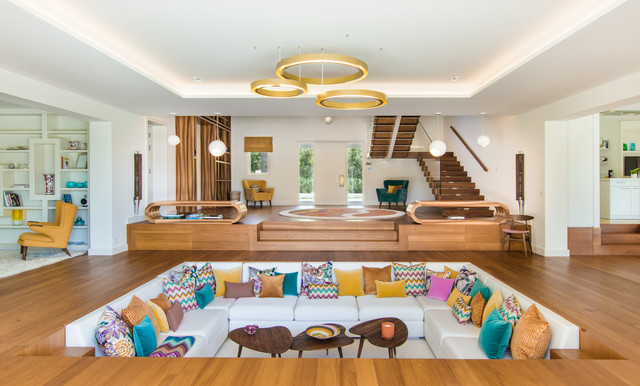 Seventies house - Midcentury - Living Room - Nice - by D&K Interiors ...