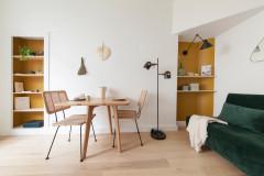 Photothèque : 30 coins repas compacts pour les petits espaces