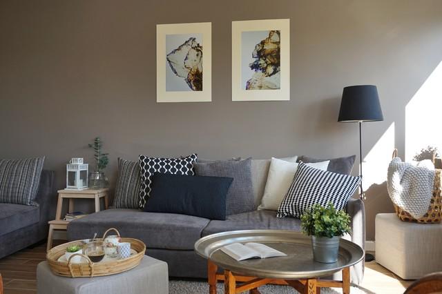 un espace de vie chic et chaleureux contemporain salon paris par adc l 39 atelier d 39 c t. Black Bedroom Furniture Sets. Home Design Ideas