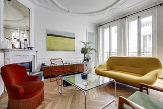 Un salon classique chic - Projet Peterhorf, par les architectes d ...