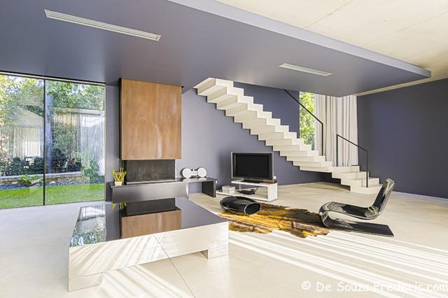 villa contemporaine vieillard fasciani contemporain salon marseille par photographe. Black Bedroom Furniture Sets. Home Design Ideas