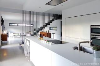 Villa Fraysse - Contemporary - Living Room - Lyon - by ...