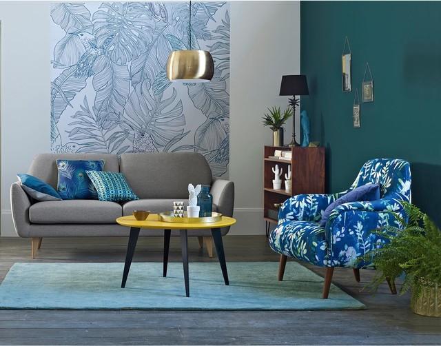 Idéer för ett exotiskt vardagsrum