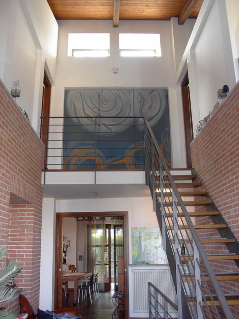 villino rustico moderno : Abitazione in villino is modern-staircase
