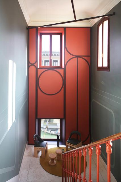 Another venice appartamento a venezia eclettico for Arredare pianerottolo scale