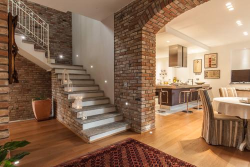 Arco di mattoni pieni o rivestimento in mattoni for Rivestimento in mattoni per case