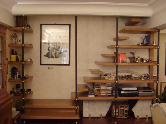 Librerie e pareti attrezzate - Scale per librerie ...