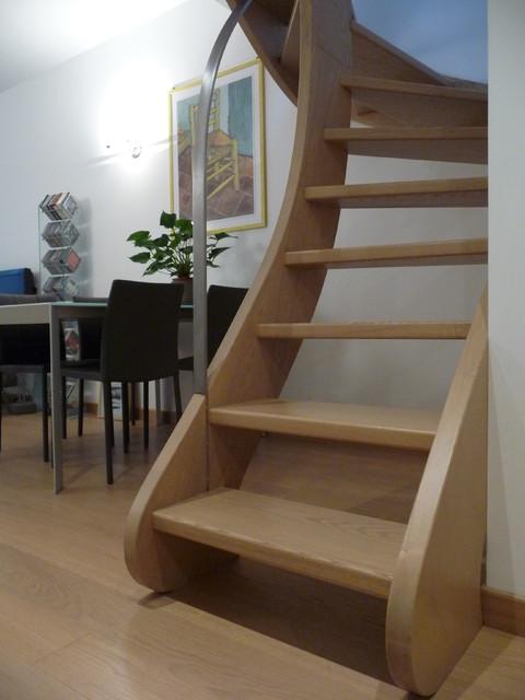 Ristrutturazione e ampliamento di un appartamento su due for Ristrutturazione a pianta aperta su due livelli