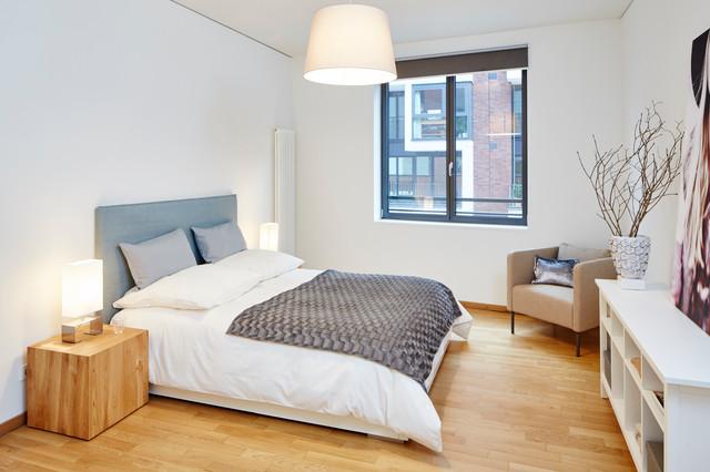 4 zimmer wohnung in hamburg hafencity modern schlafzimmer hamburg von home styling hamburg. Black Bedroom Furniture Sets. Home Design Ideas