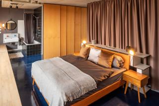 75 Schlafzimmer Mit Blauem Boden Ideen Bilder Marz 2021 Houzz De
