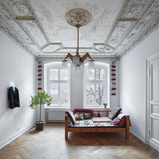 Schlafzimmermöbel Berlin berliner altbau modern schlafzimmer berlin marc benjamin