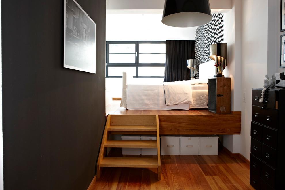 卧室北欧风格效果图大全2017图片_土拨鼠简约休闲卧室北欧风格装修设计效果图欣赏