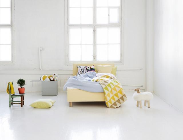 Boxspringbetten Frankfurt boxspringbett cassia mit base skirt scandinavian bedroom