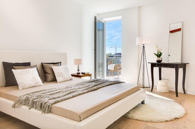 Dachgeschoss_Wohnung_Hamburg Skandinavisch Schlafzimmer