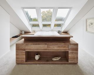 dachgeschossausbau ratingen modern schlafzimmer. Black Bedroom Furniture Sets. Home Design Ideas