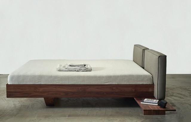 Doppelbett aus massivholz modern schlafzimmer - Schlafzimmer massivholz modern ...