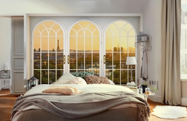 Fototapete mit Aussicht - Modern - Schlafzimmer - Berlin - von ...