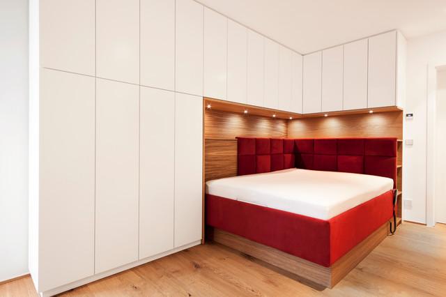 Gästezimmer kombiniert mit Ankleidezimmer - Modern - Schlafzimmer ...