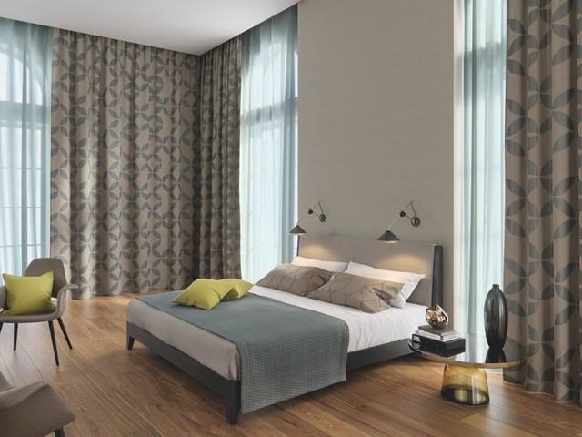 Gardinen und Vorhänge - Beispiele - Modern - Schlafzimmer ...