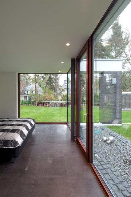 Fassade glas haus  Glashaus - Modern - Schlafzimmer - Berlin - von FritzGlock GmbH ...