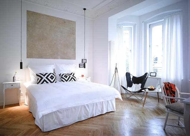 gorki apartments berlin contemporary bedroom other metro by sandra pauquet architects. Black Bedroom Furniture Sets. Home Design Ideas
