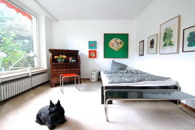 Удачное сочетание для дизайна помещения: спальня в стиле фьюжн - самое интересное для вас