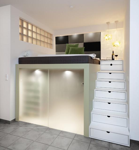 Hochbett mit Stauraum - Modern - Schlafzimmer - Bremen - von schulz ...