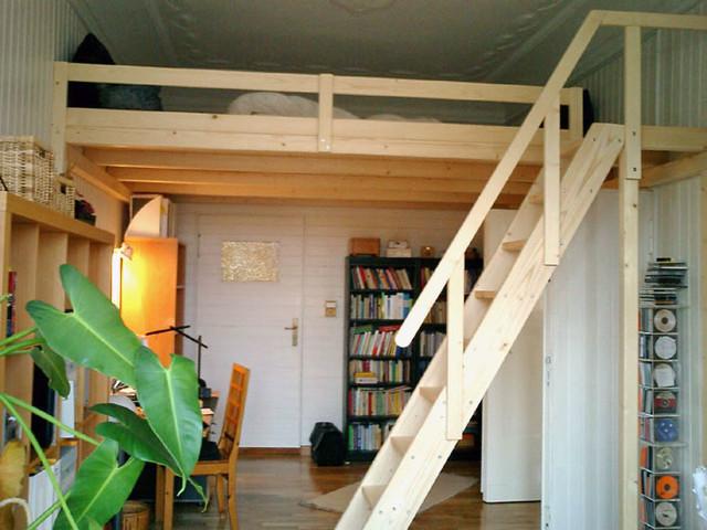 hochbett holz beste inspiration f r ihr interior design. Black Bedroom Furniture Sets. Home Design Ideas