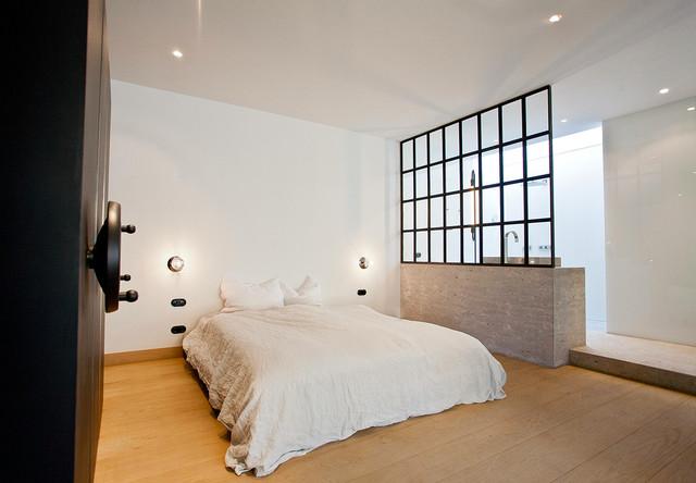schlafzimmer im loftgeb ude