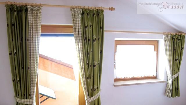 Kombination Von Stoffen - Landhausstil - Schlafzimmer - München