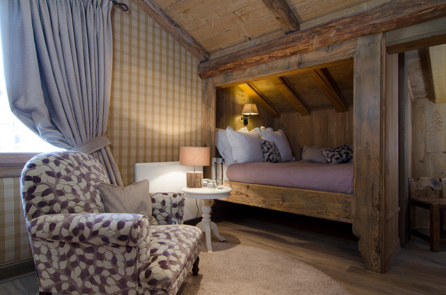 le chalet de courchevel rustic bedroom hamburg by. Black Bedroom Furniture Sets. Home Design Ideas