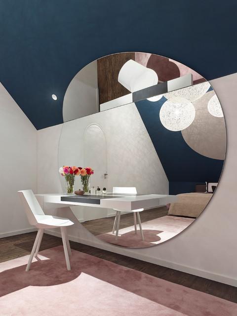 loft interieur mit schlichtem design bilder, loft esn - contemporary - bedroom - stuttgart - by ippolito fleitz, Design ideen