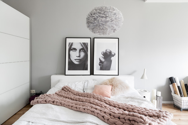 maisonette wohnung der instagramerin melike von easyinterieur scandinavian bedroom. Black Bedroom Furniture Sets. Home Design Ideas
