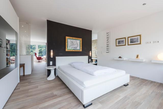 Offenes Schlafzimmer - Modern - Schlafzimmer - Frankfurt am Main ...