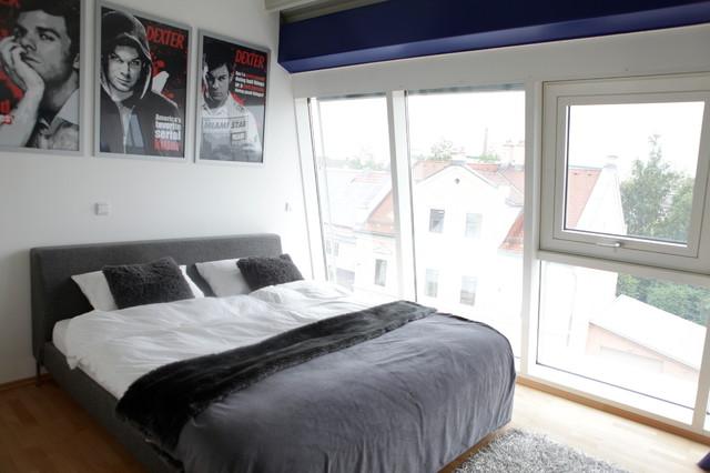 Penthaus Wohnung Oder Auch Junggesellen Bude! Modern Schlafzimmer