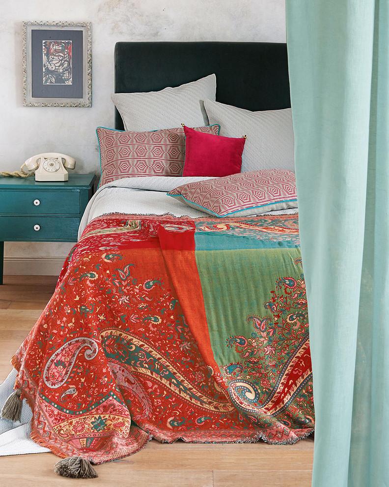 Plaid Oriental Vintage Eclectic Bedroom Hamburg By Vossberg