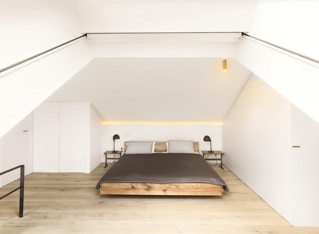 Privat Residencial Ambach Minimalistisch Schlafzimmer