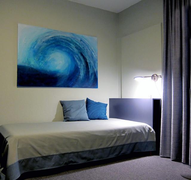 ruheraum minimalistisch schlafzimmer frankfurt am main von regina basaran feng shui. Black Bedroom Furniture Sets. Home Design Ideas