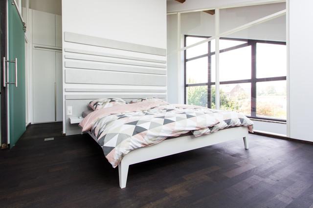 Schlafzimmer - Bett & Kopfteil - Industrial - Schlafzimmer ...