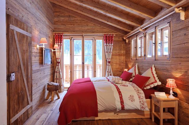 Schlafzimmer, Chalet Grand Flüh - Das Wohlfühl-chalet ... Schlafzimmer Chalet