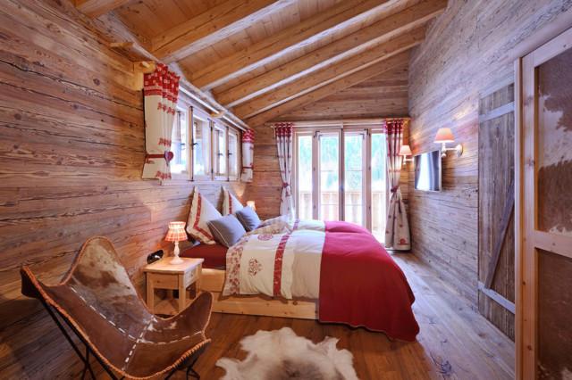 Schlafzimmer, Chalet Grand Flüh - das Wohlfühl-Chalet - Montagne ...