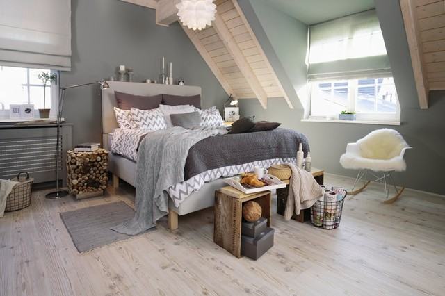 Schlafzimmer im Modern Country Style - Shabby-Chic-Style ...