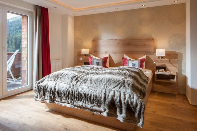Schlafzimmer im modernen Landhausstil - Rustikal - Schlafzimmer ...