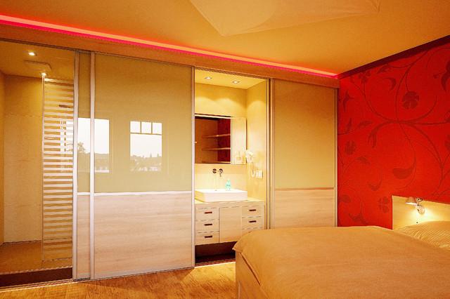 Berühmt Schlafzimmer mit Bad En Suite - Modern - Schlafzimmer - Berlin QI24