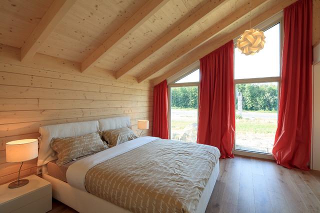 Stommel haus cornish oak show home modern for Fensterformen modern