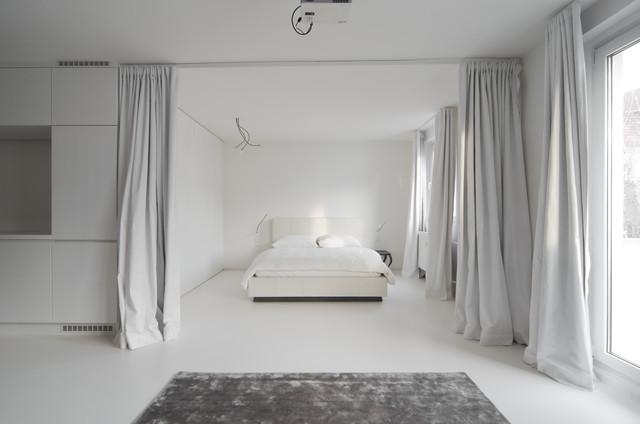vorh nge als raumteiler 8 inspirierende luftig leichte einsatzorte. Black Bedroom Furniture Sets. Home Design Ideas